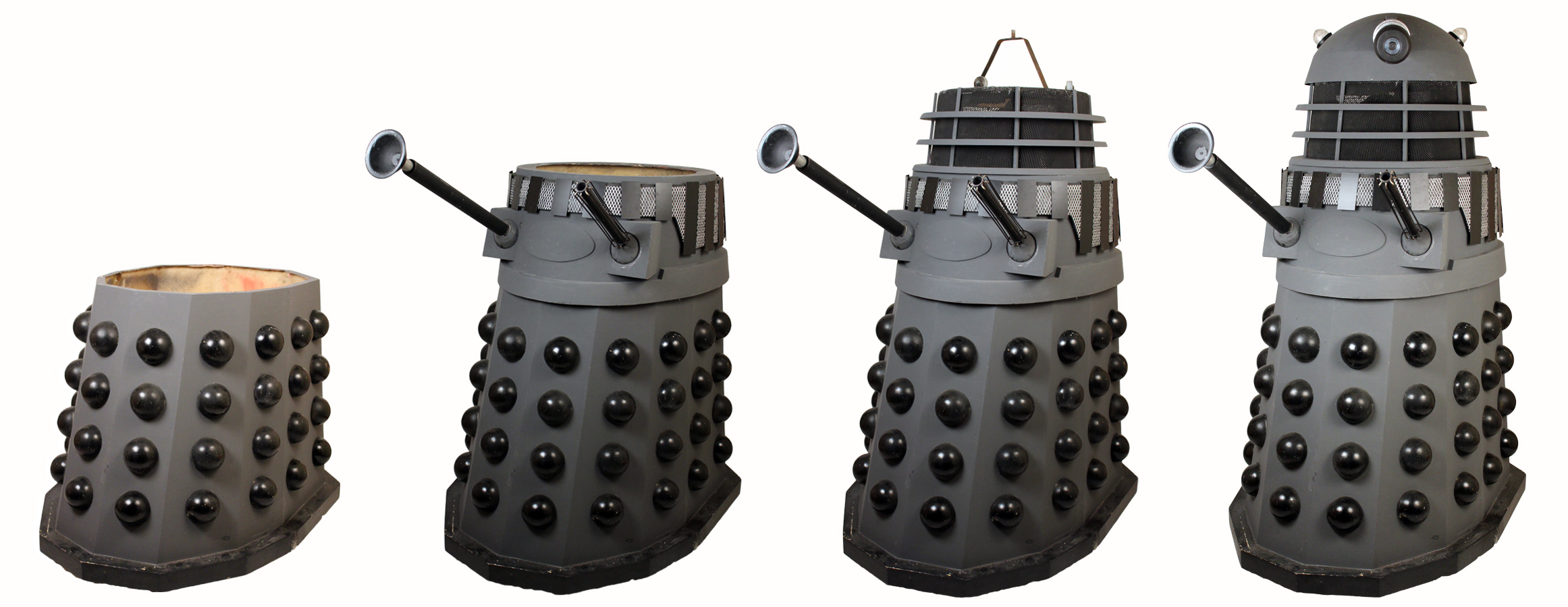 Original screen used dalek used in the production of Doctor Who