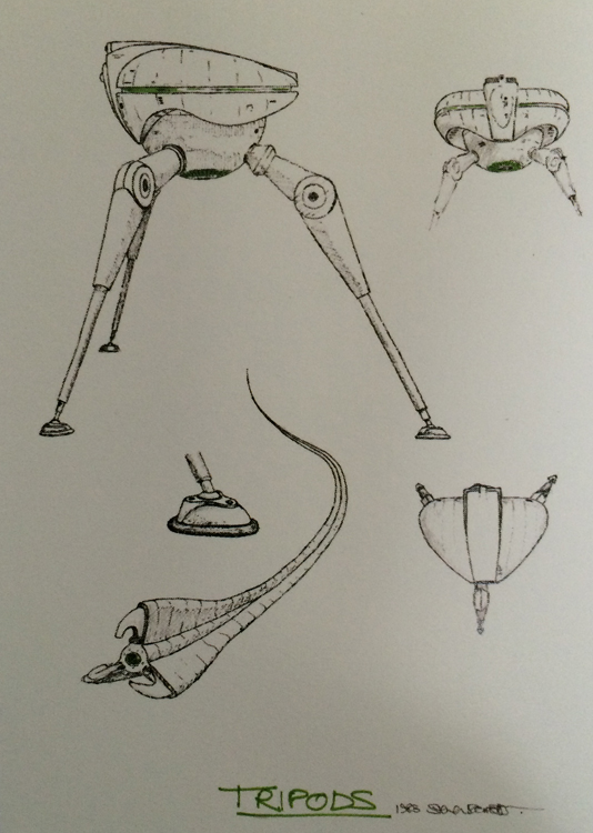The Tripod concept design by Steve Drewett