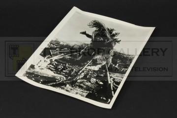 """Vintage 10"""" x 8"""" still - Godzilla"""