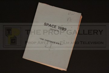 Production used script - The AB Chrysalis