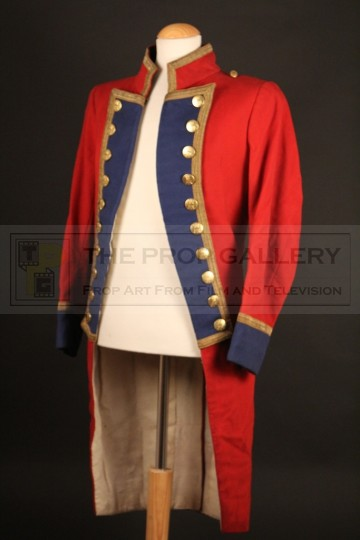 Captain Jack Absolute (Jeremy Brett) military dress