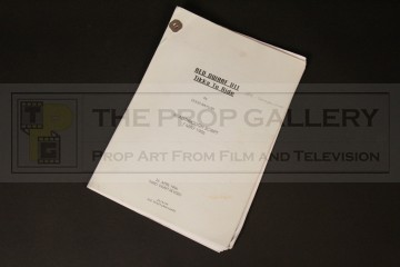 Production used script - Tikka to Ride