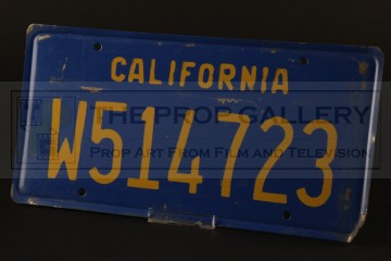 Licence plate - The Hunted