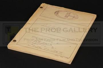 Production used storyboard folder