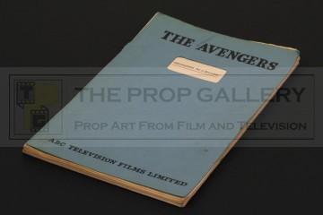 Production used script - Invitation to a Killing