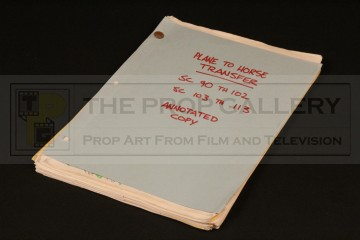 Micky Moore annotated storyboard sequence