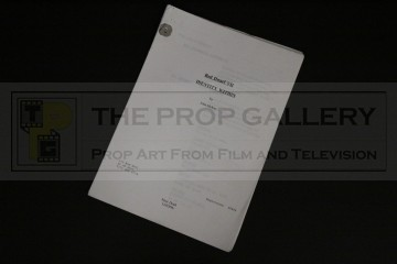 Unproduced script - Identity Within