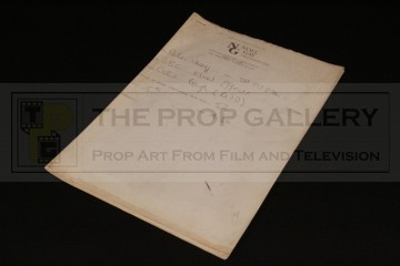 Peter Wragg personal facsimile script - Meltdown