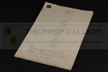 Peter Hammond personal script - Brought to Book