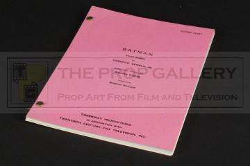 Production used script - Pilot