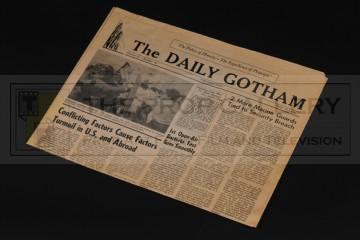 Daily Gotham newspaper