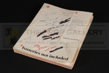 Frank McRae (Harry Noble) personal annotated script