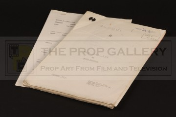 Production used script - Hit and Run