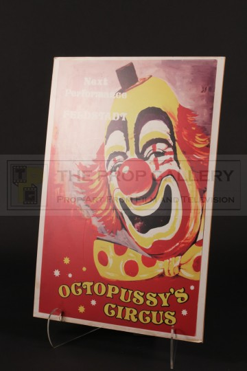 Octopussy's Circus sign