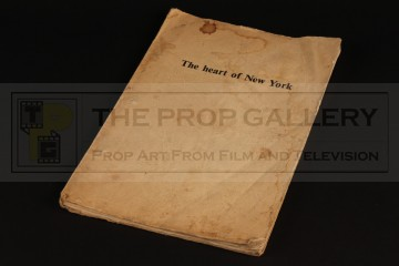 Production used script - The Heart of New York