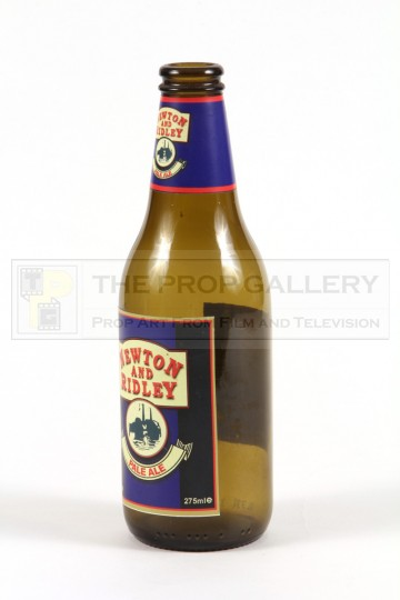 Newton and Ridley beer bottle