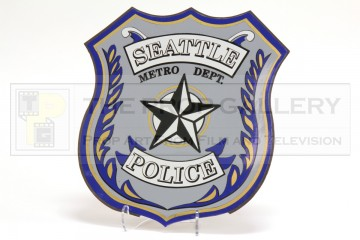 Seattle Police magnetic car emblem
