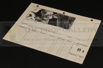 Production used storyboard - Regula I