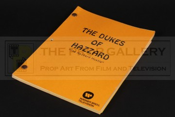 Production used script - Hazzard Hustle