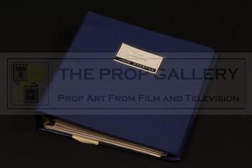 John Dykstra's visual effects breakdown binder