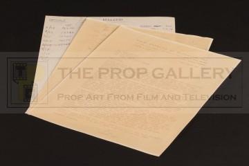 Linwood G. Dunn production letter