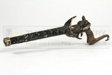 Hawkman rifle