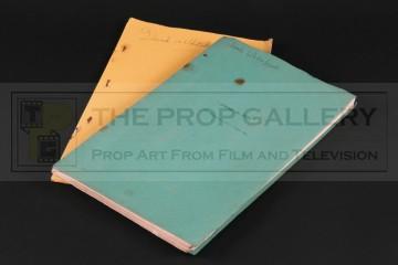 Production used script & breakdown
