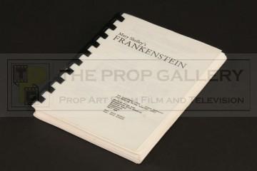 Production used pocket script