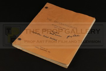 Production used script - The Snowball