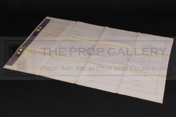 Production used blueprint - Severnaya control panel