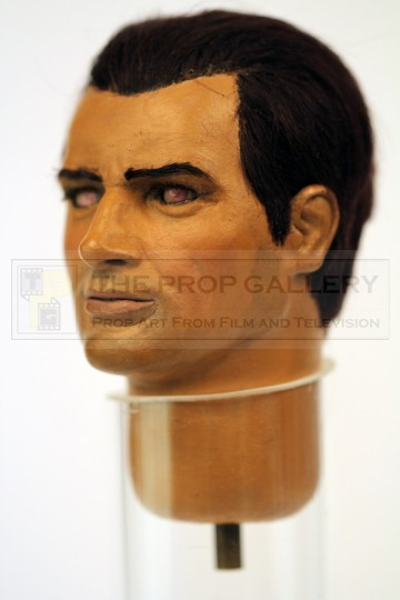 Captain Grey puppet head