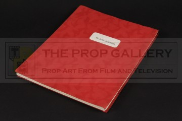 Production used script