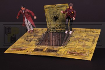 Arthur Dent (Simon Jones) & Ford Prefect (David Dixon) miniature figures
