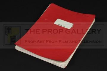 Production used script - Déjà Vu