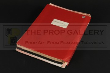 Production used script & paperwork