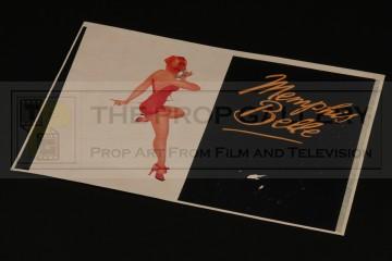 Memphis Belle nose art decals