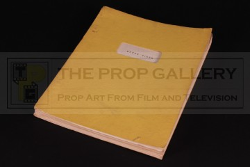 Kit West personal annotated script