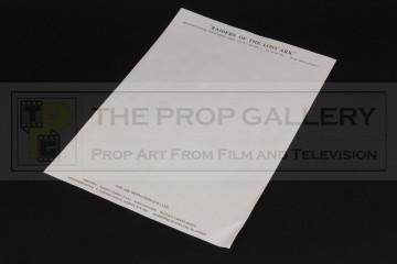 Production letterhead