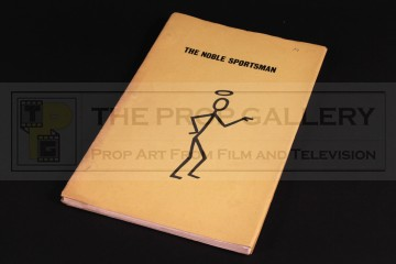 Production used script - The Noble Sportsman