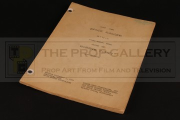 Production used script - Bobby's Comet