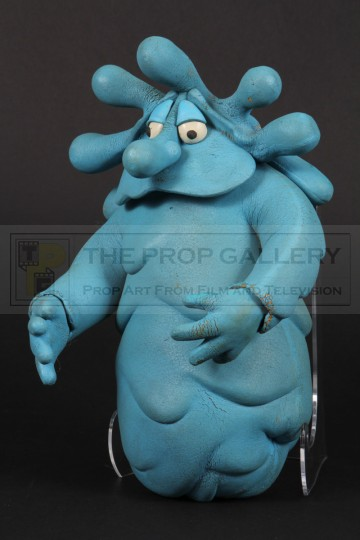 Squishington stop motion puppet
