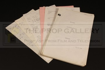Production used script - Golden Boy