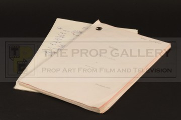 Production used script - Queen's Pawn