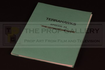 Production used script - The Ultimate Menace