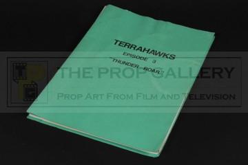 Production used script - Thunder-Roar