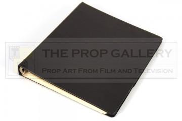 Production used script binder