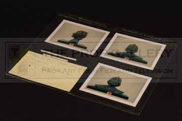 Production used Wooof maquette polaroid set