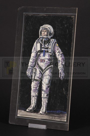 Derek Meddings spacesuit concept design artwork
