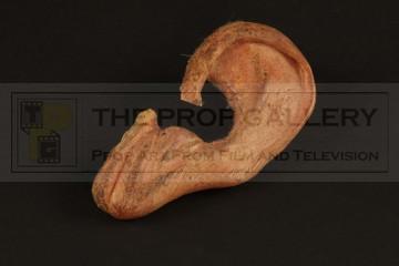 Billy the Kid (Emilio Estevez) prosthetic ear