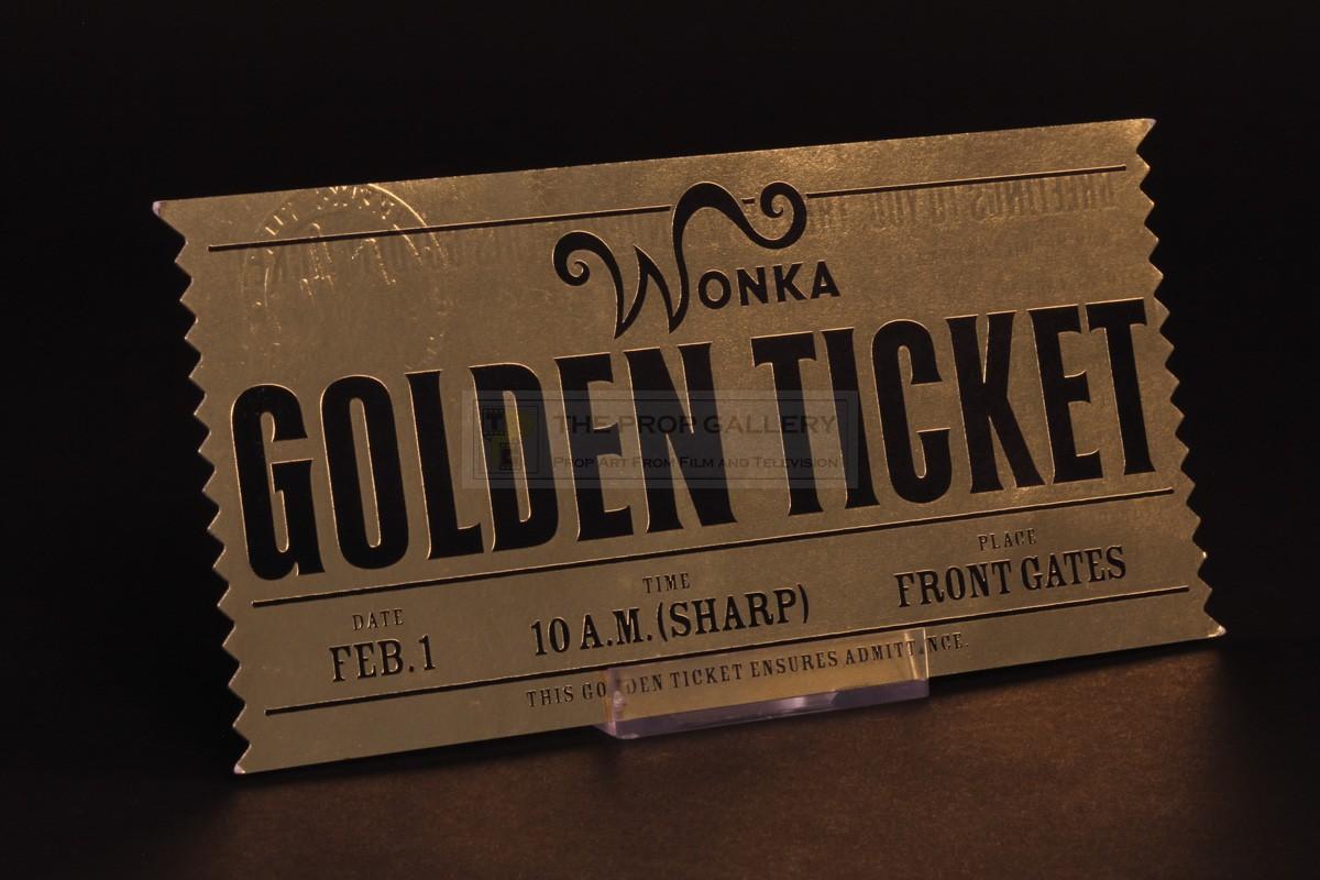 The Prop Gallery | Golden Ticket